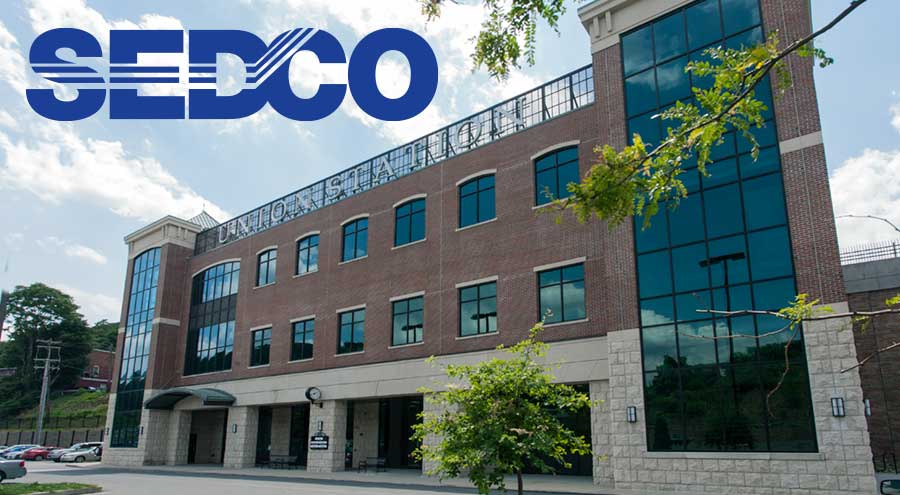 Exterior of SEDCO offices in Pottsville, PA